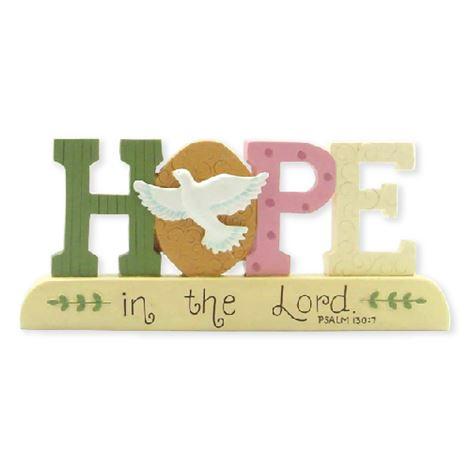 Hope on Base w/Dove